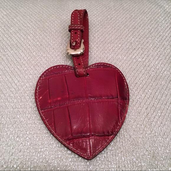 e341a60da89a Brighton - Leather Heart Luggage Tag